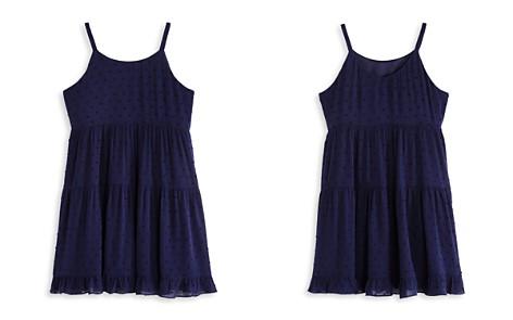 AQUA Girls' Tiered Swiss Dot Dress, Big Kid - 100% Exclusive - Bloomingdale's_2