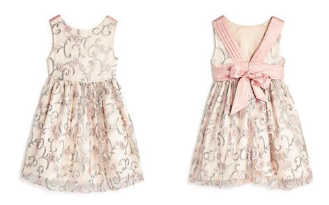 US Angels Girls' Floral Embroidered Dress - Little Kid - Bloomingdale's_2