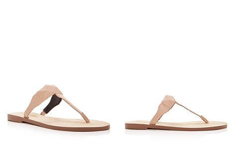 Rebecca Minkoff Women's Eloise Leather Thong Sandals - Bloomingdale's_2