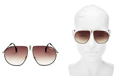 Carrera Women's Brow Bar Aviator Sunglasses, 60mm - Bloomingdale's_2