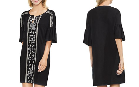 VINCE CAMUTO Embroidered Tunic Dress - Bloomingdale's_2