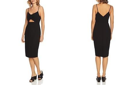 1.STATE Crepe Scuba Cutout Dress - Bloomingdale's_2
