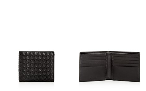 Bottega Veneta Woven Leather Bi-Fold Wallet - Bloomingdale's_2