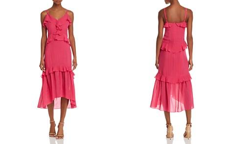 Parker Josie Ruffled Silk Dress - Bloomingdale's_2