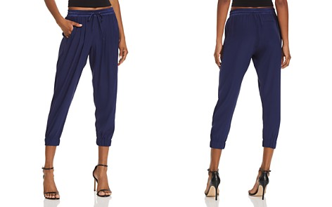 Ramy Brook Silk Jogger Pants - Bloomingdale's_2
