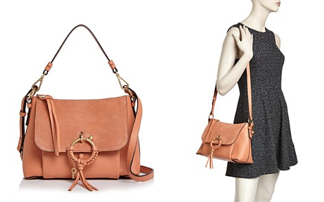 See by Chloé Joan Small Leather & Suede Convertible Shoulder Bag - Bloomingdale's_2