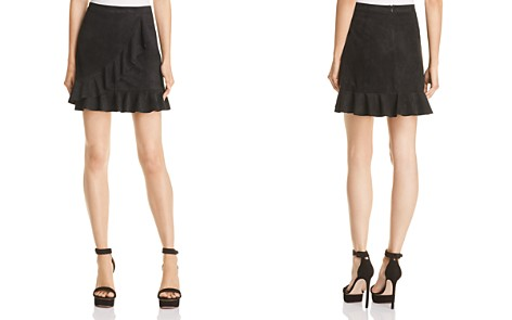 BB DAKOTA It's A Vibe Faux Suede Skirt - Bloomingdale's_2
