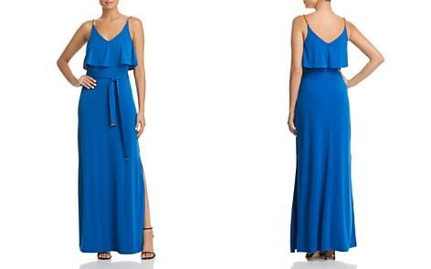 MICHAEL Michael Kors Chain-Strap Ruffled Maxi Dress - Bloomingdale's_2