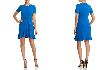 MICHAEL Michael Kors Ruffled Twist-Waist Dress - Bloomingdale's_2