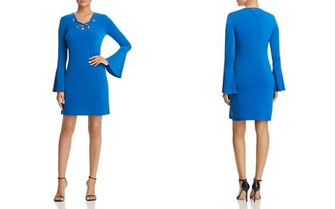 MICHAEL Michael Kors Lace-Up Grommet Dress - Bloomingdale's_2