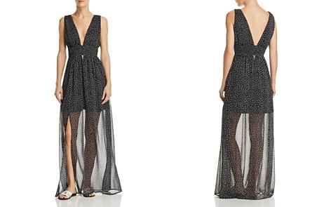 Re:Named Star-Print Illusion-Hem Maxi Dress - Bloomingdale's_2