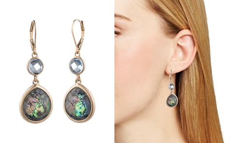 AQUA Double Stone Drop Earrings - 100% Exclusive - Bloomingdale's_2