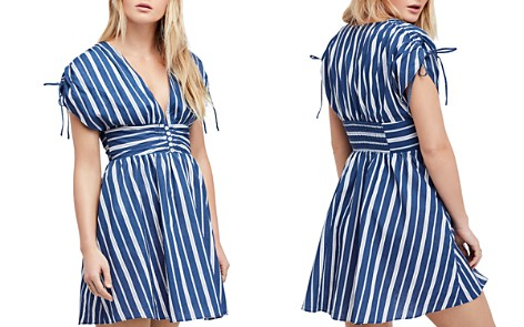 Free People Roll the Dice Striped Dress - Bloomingdale's_2