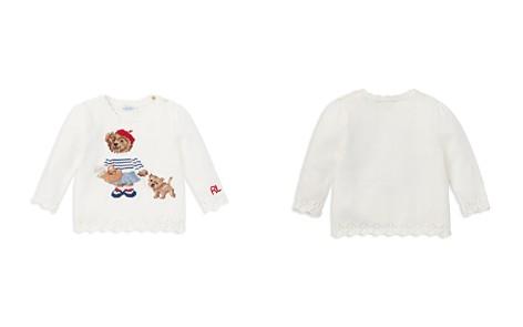 Ralph Lauren Girls' Paris Bear Sweater - Baby - Bloomingdale's_2