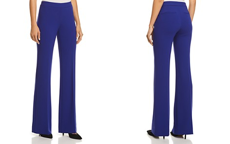 Theory Clean Flared Pants - 100% Exclusive - Bloomingdale's_2