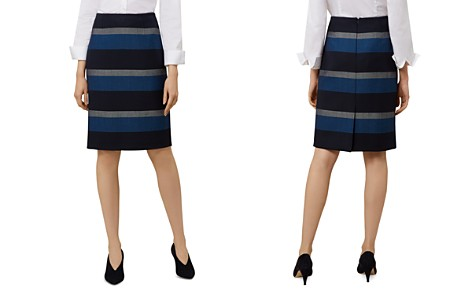 HOBBS LONDON Nora Striped Pencil Skirt - Bloomingdale's_2