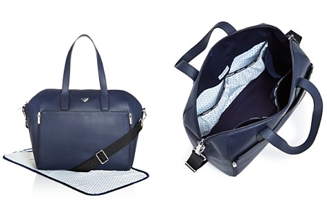 Emporio Armani Top Handle Diaper Bag with Changing Pad - Baby - Bloomingdale's_2