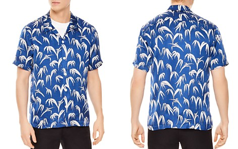 Sandro Palm Slim Fit Button-Down Shirt - Bloomingdale's_2