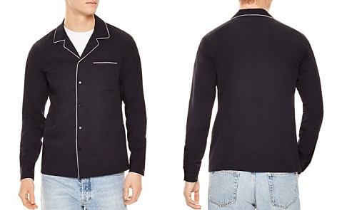 Sandro Night Slim Fit Button-Down Shirt - Bloomingdale's_2