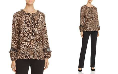 Le Gali Reed Leopard-Print Blouse - 100% Exclusive - Bloomingdale's_2