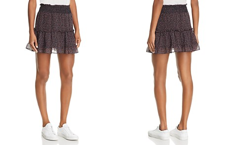 Rebecca Minkoff Lillian Tiered Micro Floral Print Skirt - Bloomingdale's_2