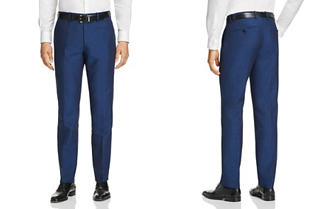 Theory Tailored Linen Blend Slim Fit Suit Pants - Bloomingdale's_2