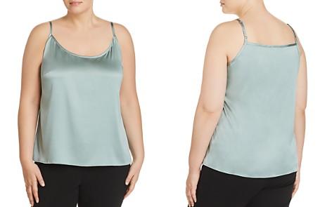 Eileen Fisher Plus Silk Scoop-Neck Camisole Top - Bloomingdale's_2