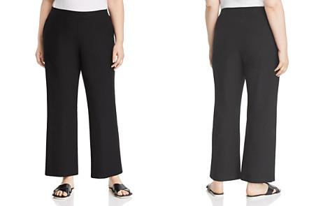 Eileen Fisher Plus Straight-Leg Pants - Bloomingdale's_2