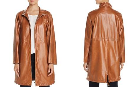 Lafayette 148 New York Minerva Leather Anorak Jacket - Bloomingdale's_2