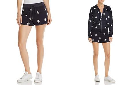 Splendid Star Print Drawstring Shorts - Bloomingdale's_2
