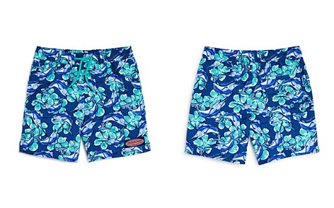 Vineyard Vines Boys' Marlin Flower Chappy Swim Trunks - Little Kid, Big Kid - Bloomingdale's_2