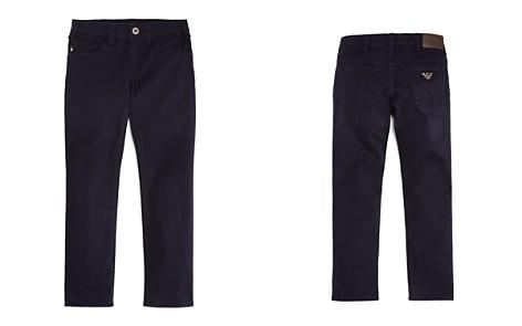 Armani Junior Boys' Slim-Fit Stretch-Cotton Pants - Little Kid, Big Kid - Bloomingdale's_2