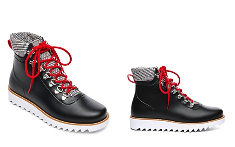 Bernardo Winnie Lace-Up Rubber Rain Boots - Bloomingdale's_2