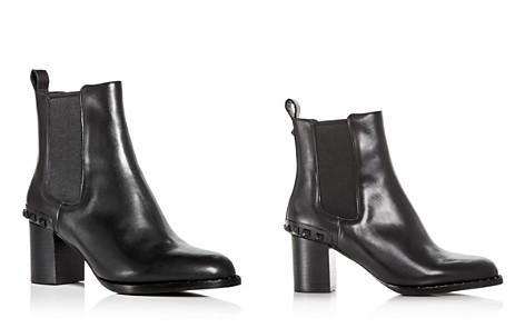 Ash Women's Vertigo Studded Leather Block-Heel Booties - Bloomingdale's_2