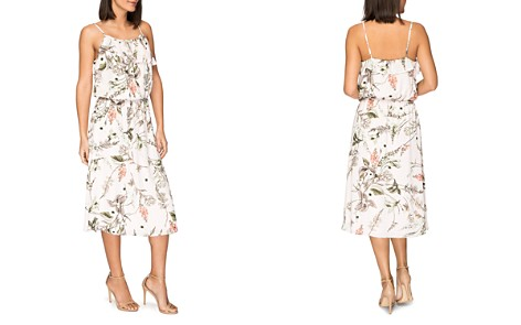 B Collection by Bobeau Maya Floral-Print Midi Dress - Bloomingdale's_2