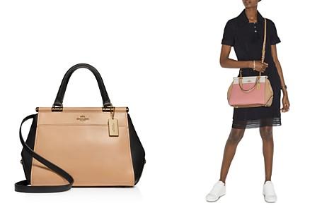 COACH Grace Color-Block Leather Satchel - Bloomingdale's_2