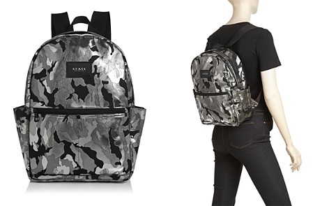 STATE Williams Medium Metallic Camo Backpack - Bloomingdale's_2