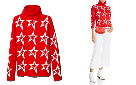 Perfect Moment Merino Wool Turtleneck Star Sweater - Bloomingdale's_2
