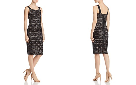 Adrianna Papell Jade Lace Dress - Bloomingdale's_2