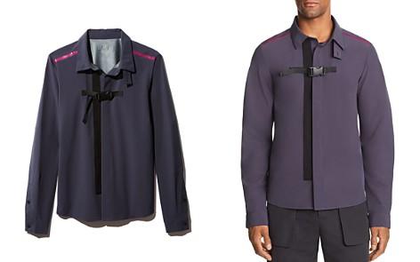 Dyne Contrast Striped Tactical Regular Fit Shirt - Bloomingdale's_2