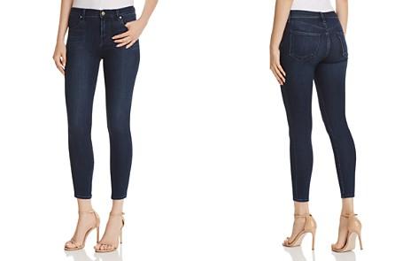 J Brand Alana High Rise Crop Skinny Jeans in Fix - Bloomingdale's_2