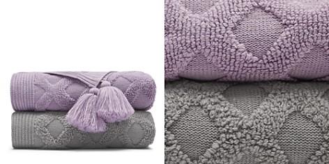 Sky Textured Geo Knit Throw - 100% Exclusive - Bloomingdale's_2