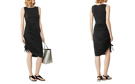 KAREN MILLEN Ruched Drawstring Dress - Bloomingdale's_2