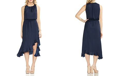 VINCE CAMUTO Sleeveless Ruffle-Hem Dress - Bloomingdale's_2