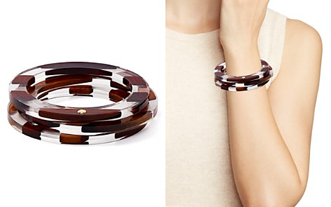 kate spade new york Two-Tone Bangle Bracelets - Bloomingdale's_2