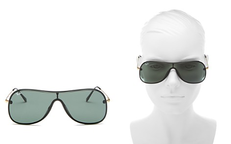 Ray-Ban Women's Rimless Shield Sunglasses, 142mm - Bloomingdale's_2