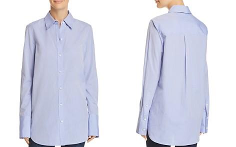 Theory Classic Tuxedo Shirt - Bloomingdale's_2