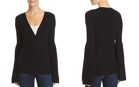 Theory Flared-Sleeve Cashmere Cardigan - 100% Exclusive - Bloomingdale's_2
