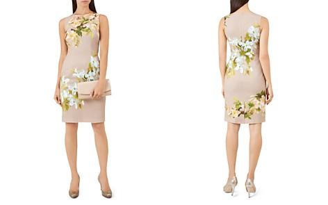 HOBBS LONDON Francine Floral Print Sheath Dress - Bloomingdale's_2
