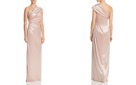 Adrianna Papell One-Shoulder Goddess Gown - Bloomingdale's_2